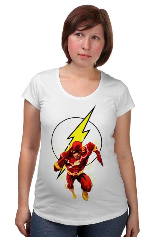 Футболка для беременных Printio The flash (молния) футболка для беременных printio bring me the horizon