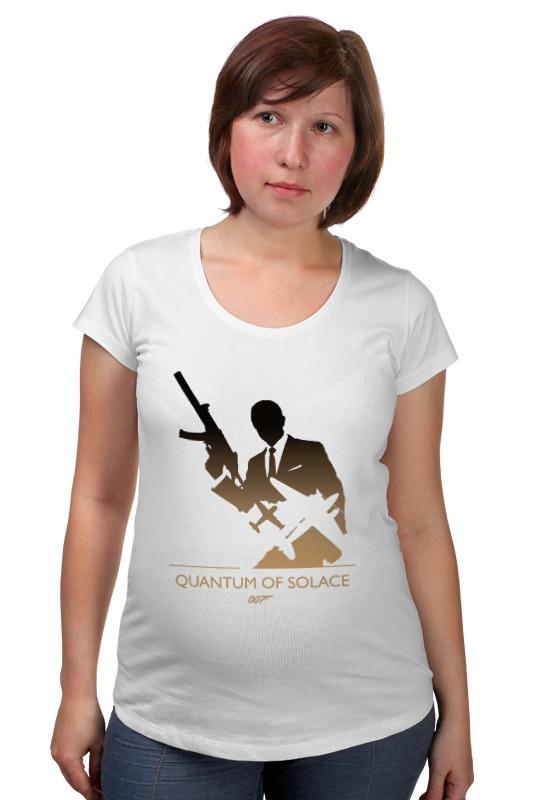 стеллаж квант 3 Футболка для беременных Printio 007: квант милосердия