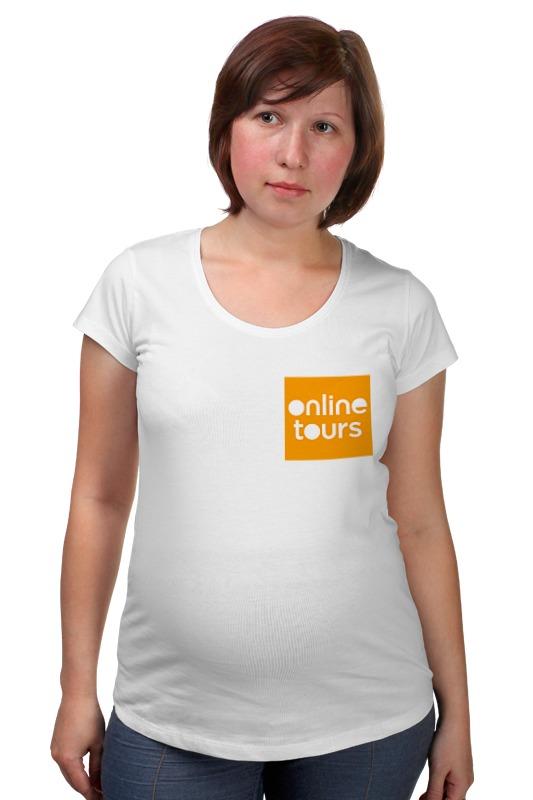 Футболка для беременных Printio Оранжевый квадрат футболка для беременных printio elements of harmony