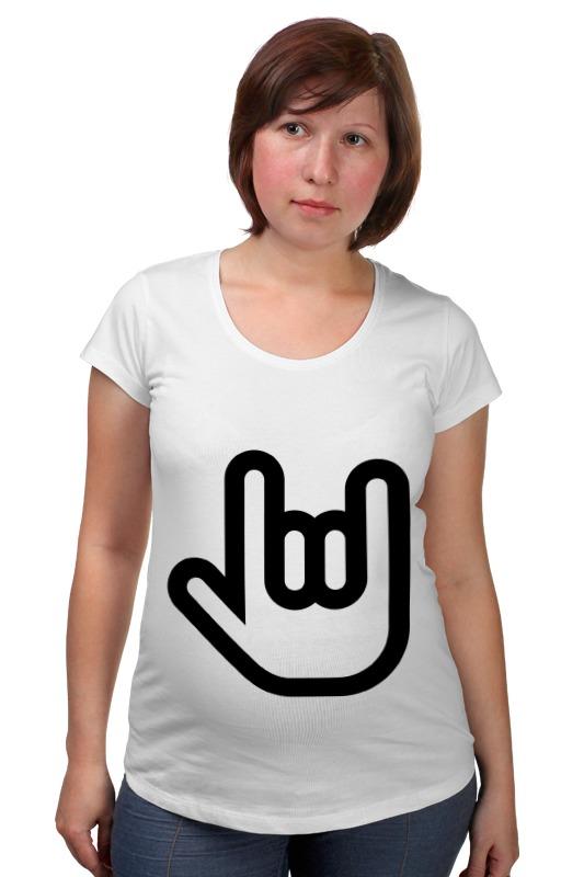 Футболка для беременных Printio Rock and roll футболка для беременных printio world school of rock