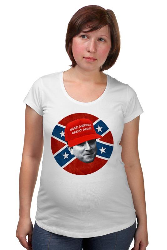 Футболка для беременных Printio Dixie rebel kappa футболка wearcraft premium printio dixie rebel kappa