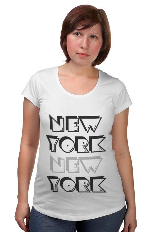 Футболка для беременных Printio New york футболка print bar new york apple