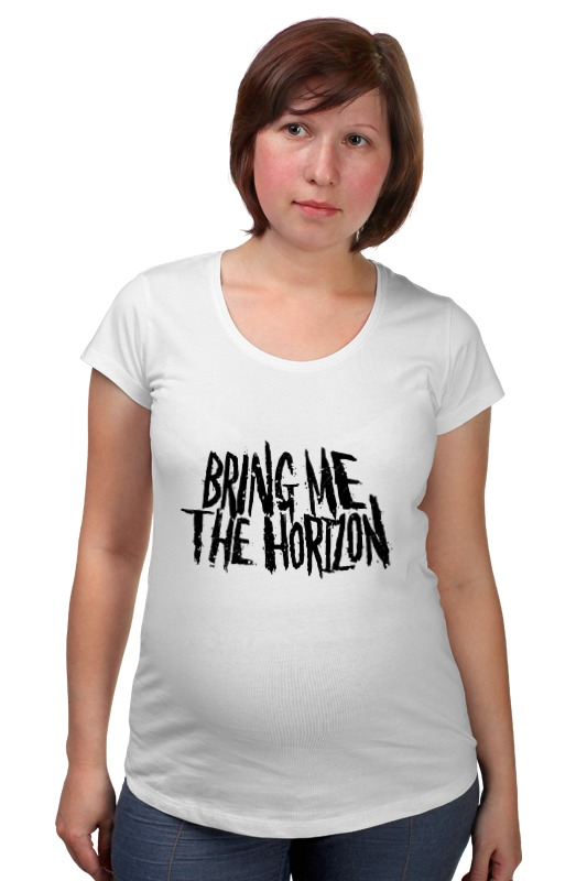 Футболка для беременных Printio Bring me the horizon футболка для беременных printio bring me the horizon змеи