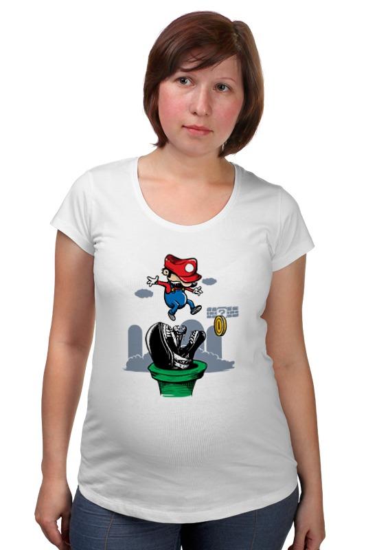 Футболка для беременных Printio Марио чужой футболка для беременных printio марио