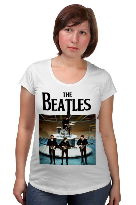Футболка для беременных Printio The beatles футболка для беременных printio bring me the horizon