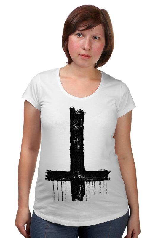 Футболка для беременных Printio Крест футболка для беременных printio армянский крест