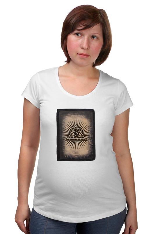 Футболка для беременных Printio Всевидящее око футболка для беременных printio html5
