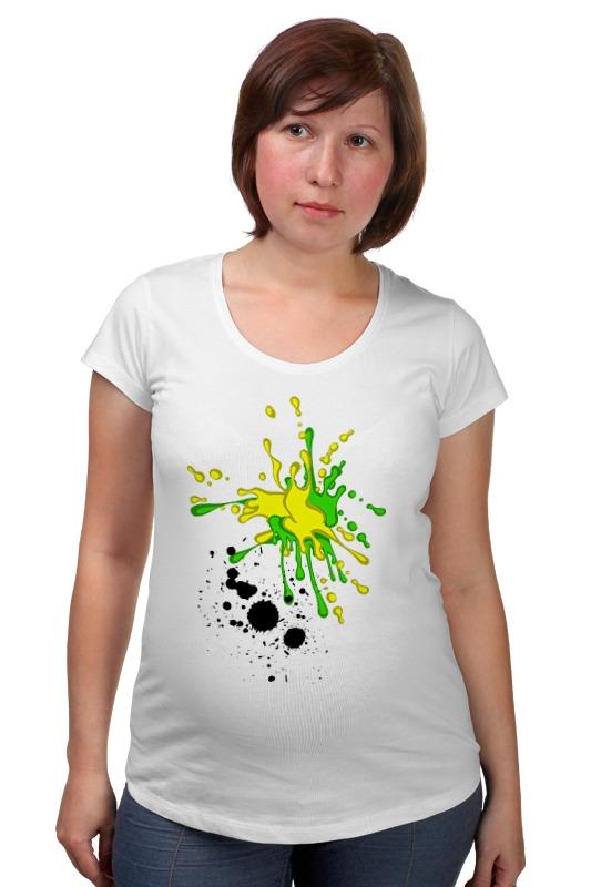 Футболка для беременных Printio Творческие кляксы футболка для беременных printio творческие кляксы