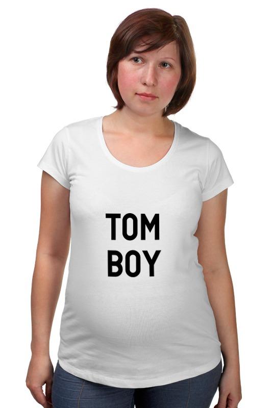Футболка для беременных Printio Tom boy футболка классическая printio tom boy
