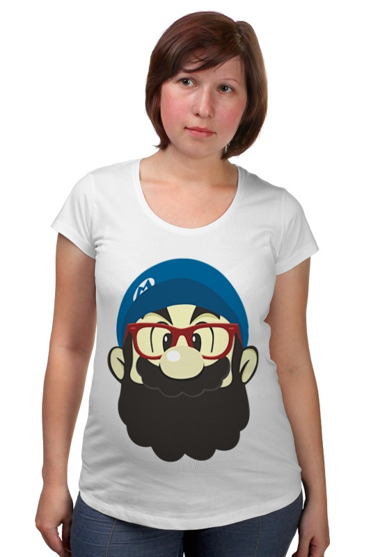 Футболка для беременных Printio Марио хипстер футболка для беременных printio марио