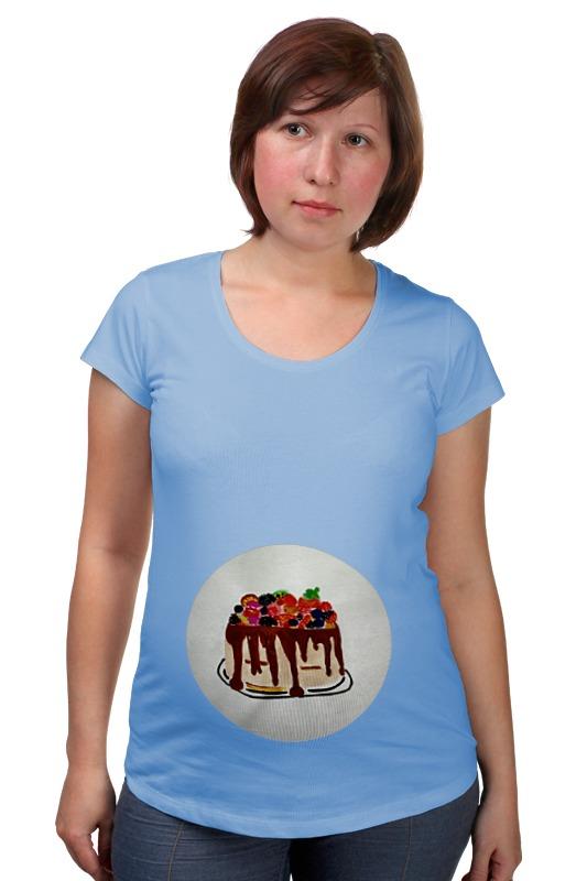 Футболка для беременных Printio Тортик футболка для беременных printio тортик