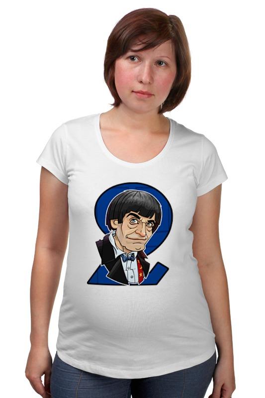 Футболка для беременных Printio Доктор кто футболка рингер printio доктор кто doctor who