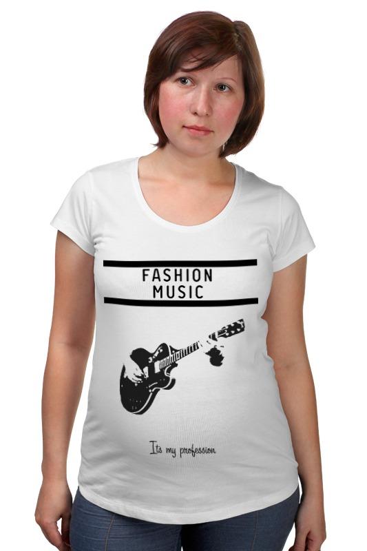 Футболка для беременных Printio Fashion music футболка для беременных printio html5