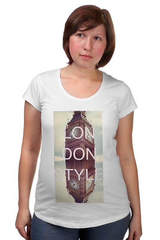 Футболка для беременных Printio Лондон футболка для беременных printio хозяин морей