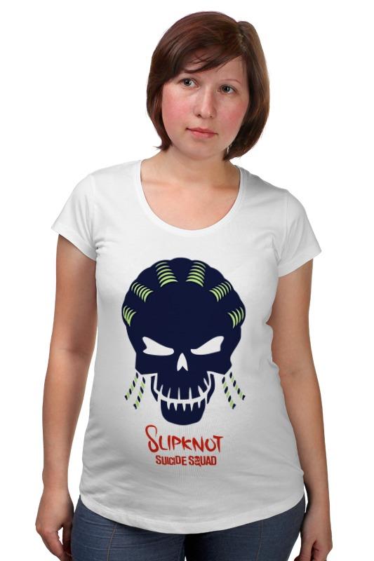 Футболка для беременных Printio Слипкнот (отряд самоубийц) футболка рингер printio слипкнот  отряд самоубийц
