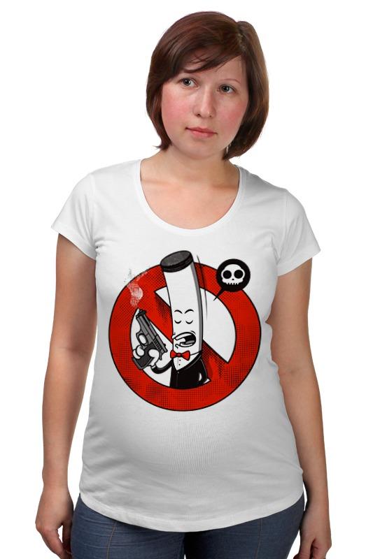 Футболка для беременных Printio Курение убивает! (сигарета) футболка классическая printio мачете убивает