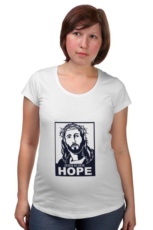 Футболка для беременных Printio Иисус - наша надежда иисус исцеляет больного пазлы