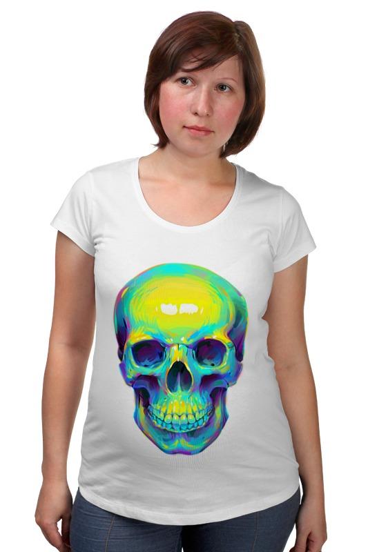 Футболка для беременных Printio Colorfull skull футболка для беременных printio россия украина