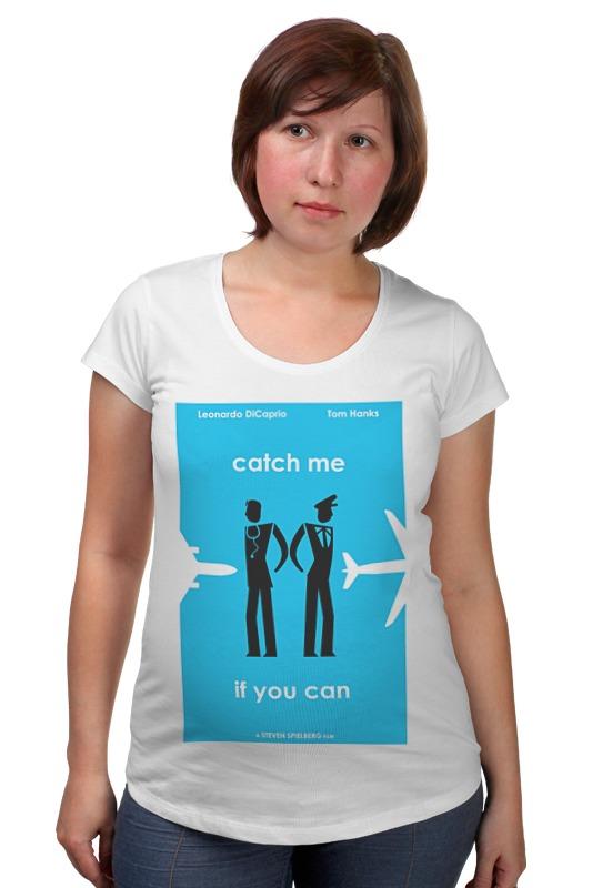Футболка для беременных Printio Catch me футболка для беременных printio bring me the horizon