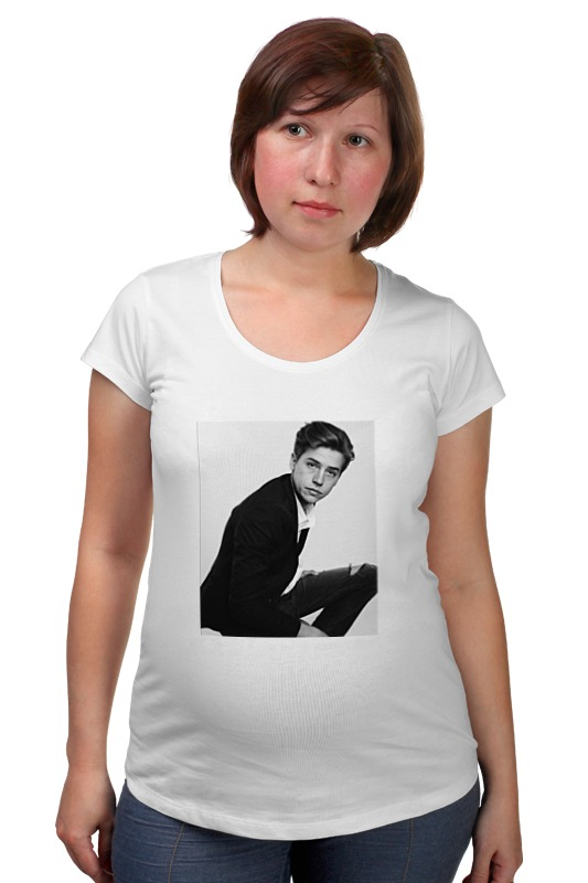 Футболка для беременных Printio Cole sprouse футболка для беременных printio россия украина