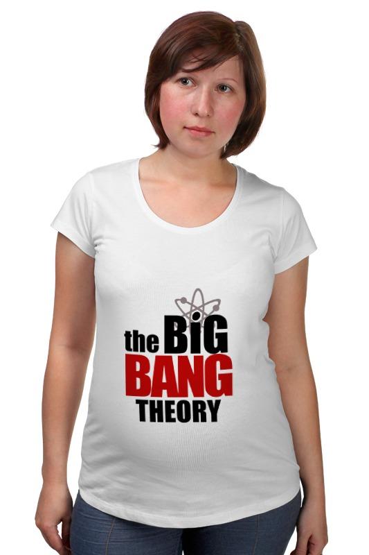 Футболка для беременных Printio The big bang theory футболка для беременных printio bring me the horizon