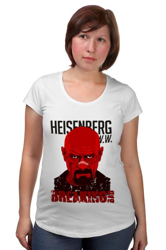 Футболка для беременных Printio Heisenberg red товары для беременных