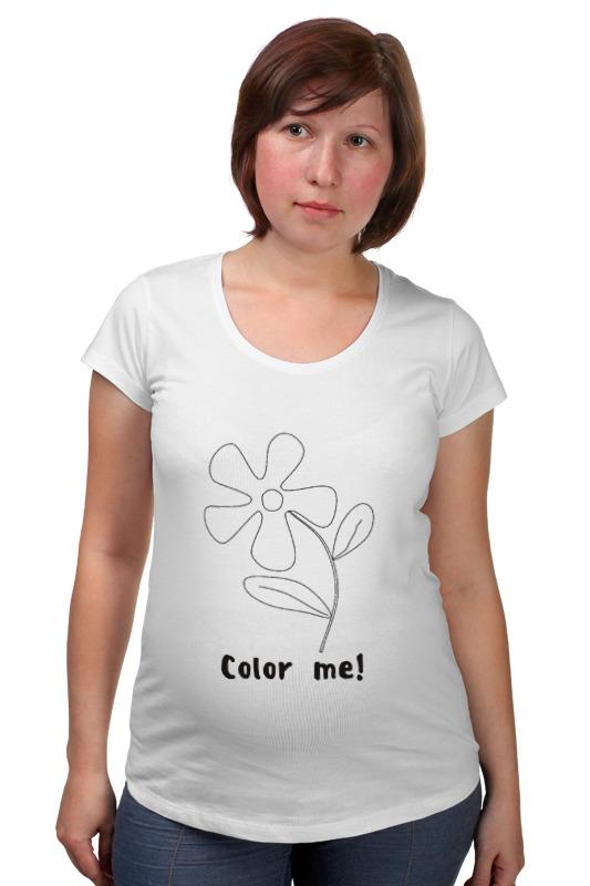 Футболка для беременных Printio Color me футболка для беременных printio bring me the horizon