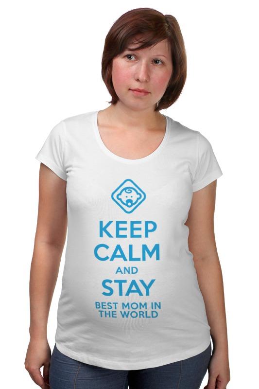 Футболка для беременных Printio Stay best mom in the world футболка для беременных printio stay best mom in the world