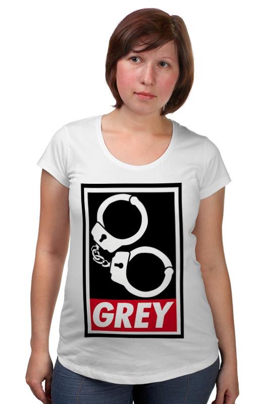 Футболка для беременных Printio 50 оттенков серого (fifty shades of grey) fifty shades darker