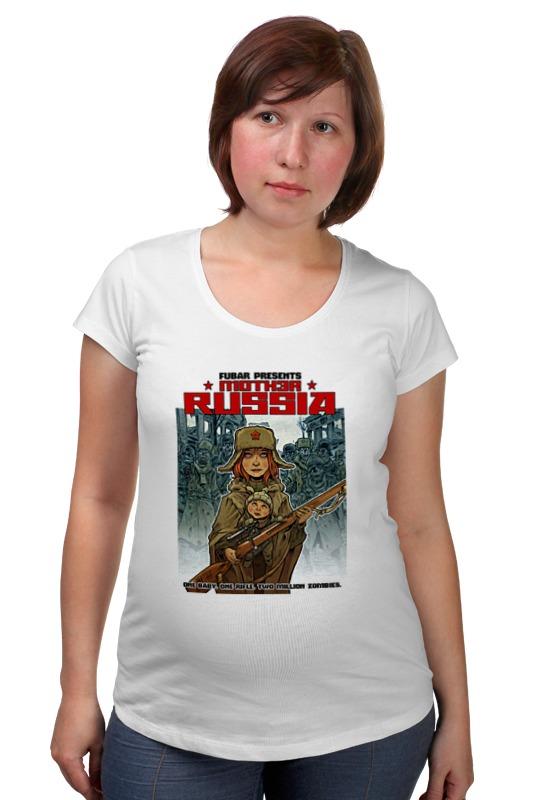 Футболка для беременных Printio Зомби россия футболка для беременных printio крым россия