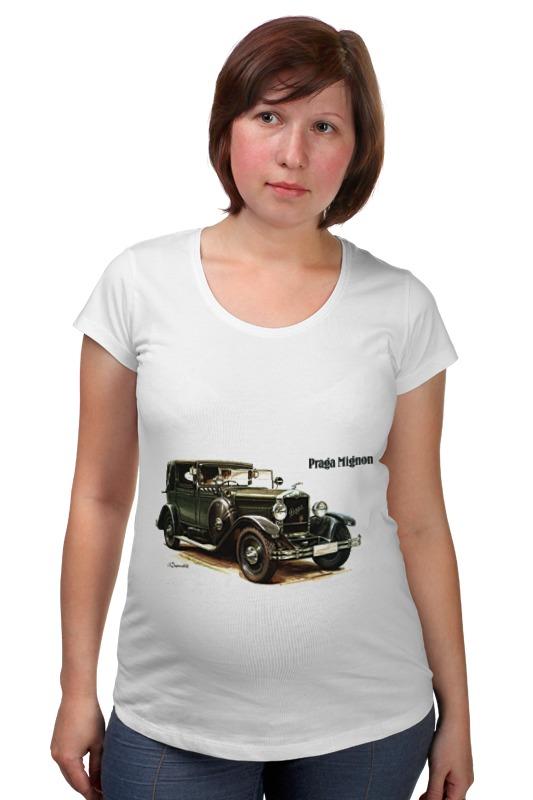 Футболка для беременных Printio Ретроавтомобили футболка для беременных printio жарю лучше всех