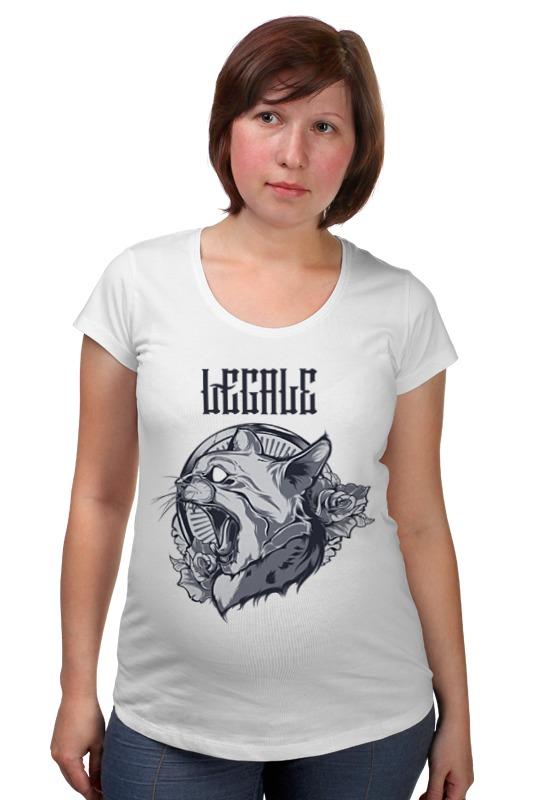 Футболка для беременных Printio The cat футболка для беременных printio bring me the horizon
