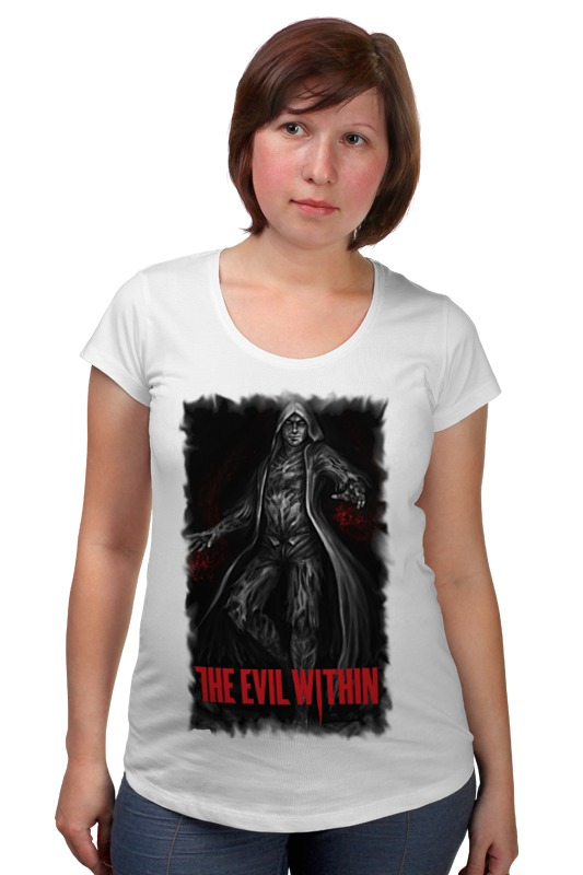 Футболка для беременных Printio The evil within