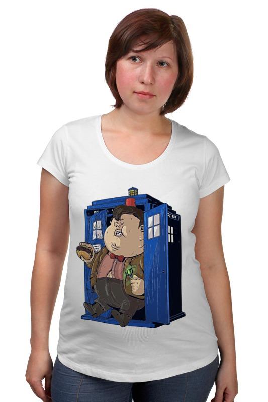 Футболка для беременных Printio Fat doctor who футболка рингер printio доктор кто doctor who