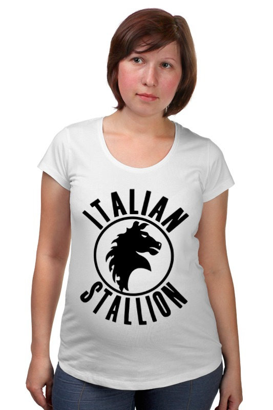 Футболка для беременных Printio Итальянский жеребец футболка для беременных printio россия украина