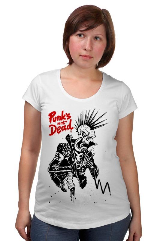 Футболка для беременных Printio Панки живы (punks not dead) сумка printio панки живы punks not dead