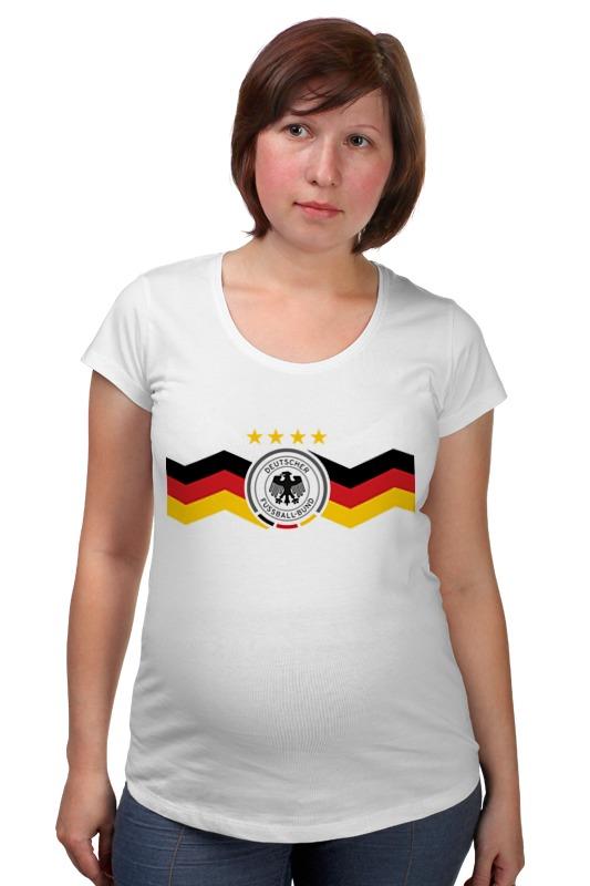 Футболка для беременных Printio Сборная германии футболка для беременных printio с пробегом по германии