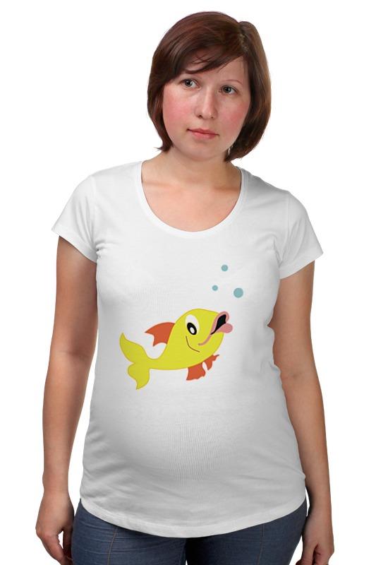 Футболка для беременных Printio Рыбка футболка для беременных printio рыбка