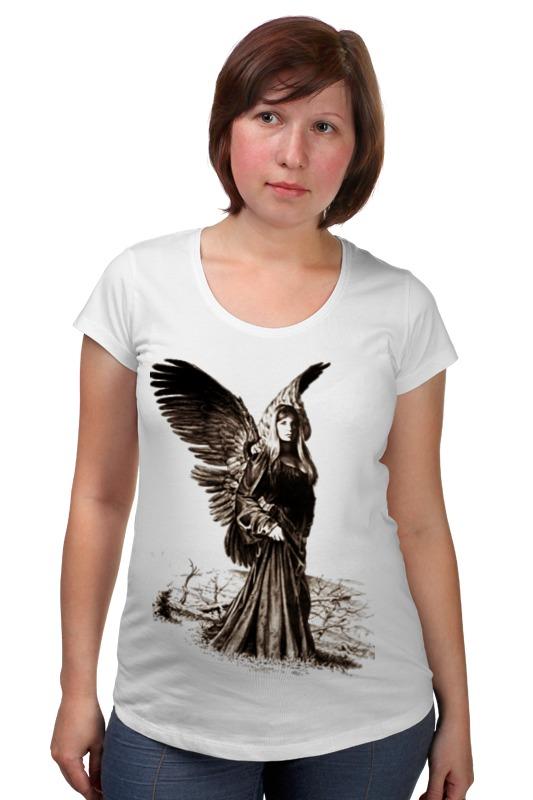 Футболка для беременных Printio Прекрасный ангел россия дорожная икона ангел хранитель