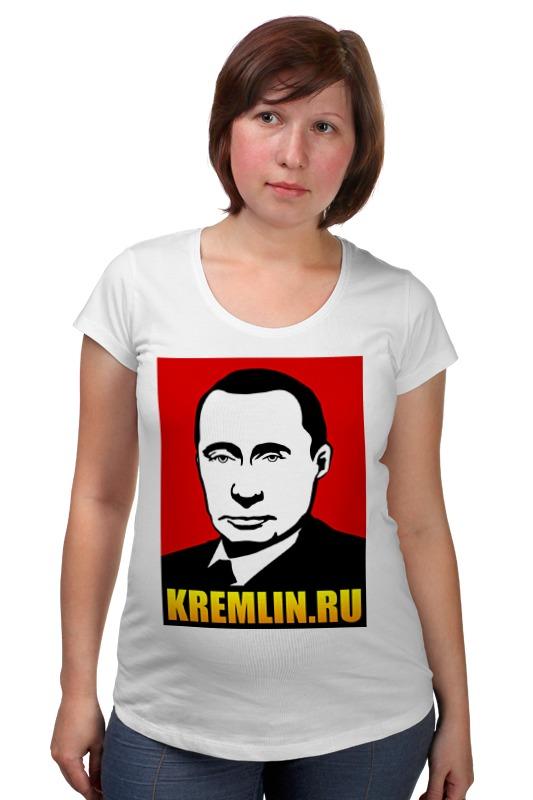 Футболка для беременных Printio Путин