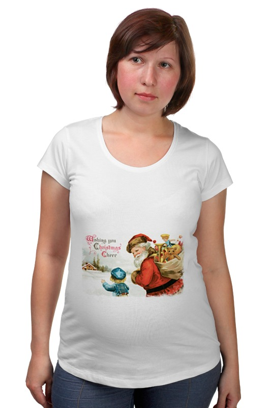 Футболка для беременных Printio Дед мороз фигурки sweet home ёлочное украшение дед мороз