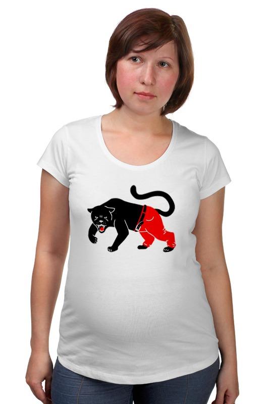 Футболка для беременных Printio Чёрная пантера одежда для беременных