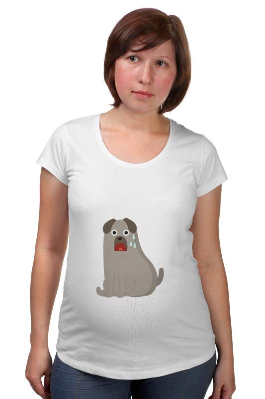Футболка для беременных Printio Грустный пёс футболка для беременных printio россия украина