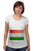 "Футболка для беременных ""Флаг Таджикистана"" - арт, флаг, tajlife, таджикистана"