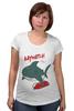 "Футболка для беременных ""Акула (Baywatch)"" - акула, shark, спасатели малибу, baywatch"