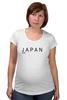 """Футболка для беременных """"Japan"""" - аниме, япония, japan"""