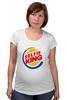 """Футболка для беременных """"Король Селфи (Selfie King)"""" - пародия, селфи, selfie, burger king"""