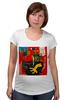 """Футболка для беременных """"Basquiat"""" - граффити, робот, basquiat, баския, жан-мишель баския"""