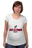 """Футболка для беременных """"Arizona Coyotes"""" - хоккей, nhl, нхл, arizona coyotes, аризона койотис"""