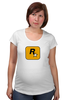 """Футболка для беременных """"Rockstar"""" - авторские майки, games, игры, игра, game, gamer, grand theft auto, gta, pc, геймер"""